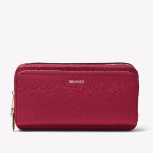 Jet Set Travel Leather Cosmetic Pouch   Michael Kors