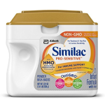 Similac Pro-Sensitive Non-GMO Infant Formula with Iron, with 2'-FL HMO, For Immune Support, Baby Formula, Powder, 22.5 ounces, 6 Count