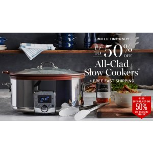 All-Clad Slow Cookers - Up to 50% Off | Williams Sonoma