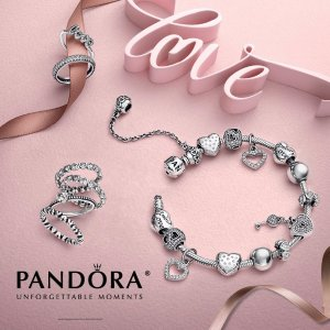 Free Ring or EarringsWith Your $100 Pandora Purchase