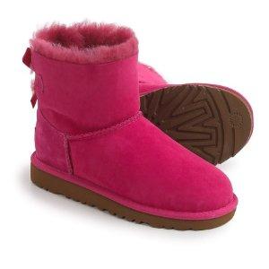 UGG® Australia Mini Bailey Boots - Suede (For Big Girls)