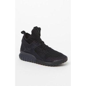 adidas Tubular X Primeknit Black and Gray Shoes at PacSun.com