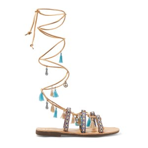 Embellished leather sandals | Mabu by Maria BK | US | THE OUTNET