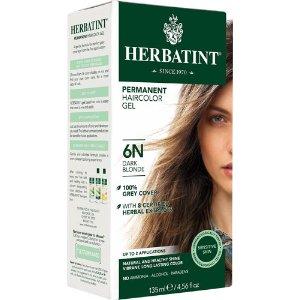 Herbatint Permanent Haircolor Gel 6N Dark Blonde -- 4.56 fl oz