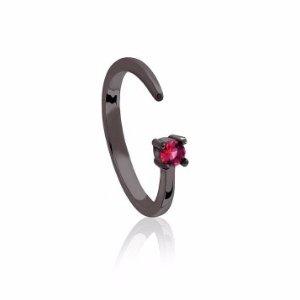 Gunmetal Cancer Zodiac Ring