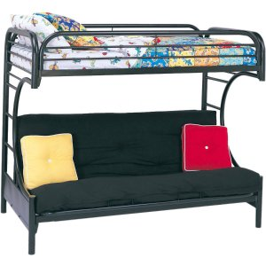 $199Eclipse Twin Over Full Futon Bunk Bed