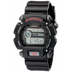 Casio G-Shock Men's DW9052-1V Quartz Chronograph Black Resin Band 48.5mm Watch | eBay