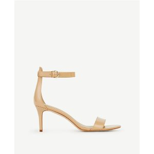 Kaelyn Patent Leather Strappy Sandals | Ann Taylor