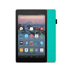 """2017 Fire HD 8"""" IPS Quad-Core 16GB Alexa-Enabled Tablet with Case and Ama - 8470777   HSN"""