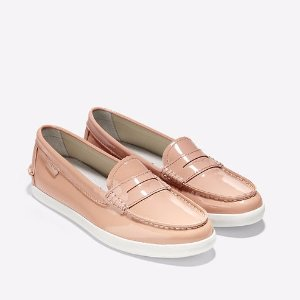 Womens Pinch Patent Lte in Maple Sugar-White | Cole Haan