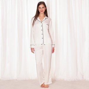 Claudia Shirt and Trouser Cream – Bluebella