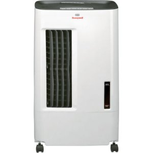 Honeywell 176 CFM Indoor Evaporative Air Cooler (Swamp Cooler) with Remote Control in White/Gray - JCPenney
