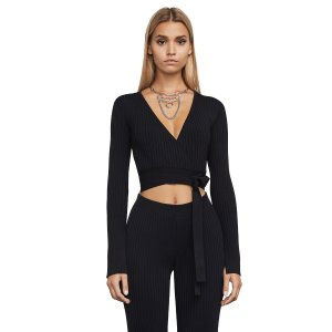 Emily Ribbed Crop Top