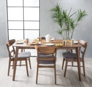 $412.24-$437.32Idalia Mid-Century 5-piece Rectangle Dining Set by Christopher Knight Home
