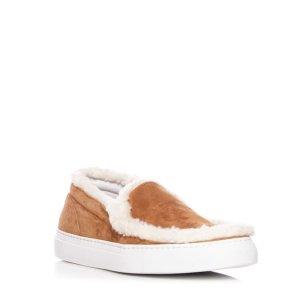 JOSHUA SANDERS Shearling Sneaker