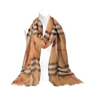 Burberry Gauze Giant Check scarf