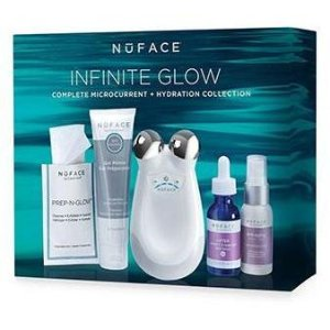 NuFACE Trinity® Infinite Glow Complete Microcurrent + Hydration Collection | askderm.com
