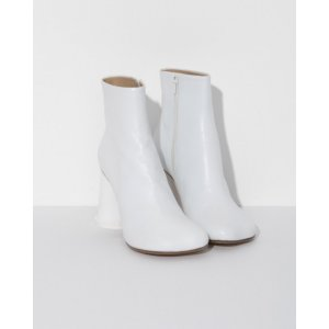 Ankle Boots with Cup Heel