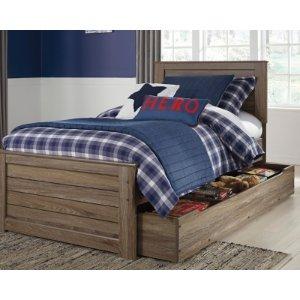 Javarin Twin尺寸带储物床