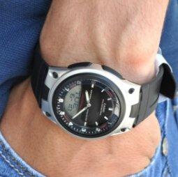 $11.07 (Orig $29.95) Lowest priceCasio Men's AW80-1AV Forester Ana-Digi Databank Watch