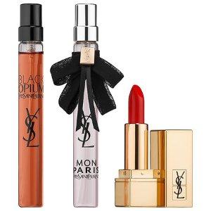 Yves Saint LaurentBlack Opium & Mon Paris Lipstick Gift Set