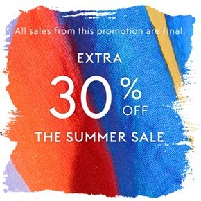 Extra 30% Off + Up to 75% OffMSGM, Valentino & More @ THE OUTNET