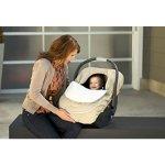 JJ Cole 婴儿推车保暖袋/安全座椅保暖罩 - 卡其色