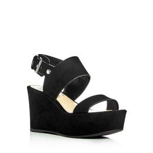 VINCE CAMUTO Karlan Platform Wedge Slingback Sandals | Bloomingdale's