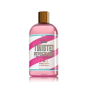 Twisted Peppermint 2-In-1 Bubble Bath & Body Wash