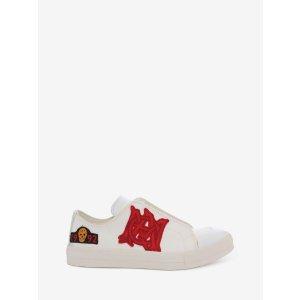 Low Cut Lace Up Sneaker | Alexander McQueen