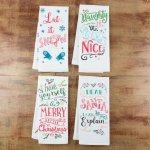 Mainstays Holiday Flour Sack Kitchen Towel, Assorted Prints, 28