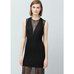 Lace detail gown -  Women | OUTLET USA