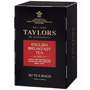 $4Taylors of Harrogate English Breakfast 50 Teabags
