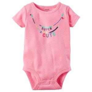 Baby Girl Neon Super Cute Collectible Bodysuit | Carters.com
