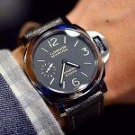 PANERAI Luminor Marina Black Dial Black Leather Men's Watch PAM00510
