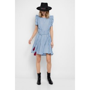 Rousseau Chambray Dress   Zadig & Voltaire