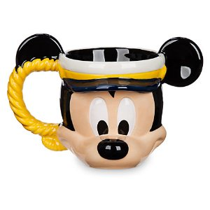 Captain Mickey Mouse Sculptured Mug - Disney Cruise Line | Disney Store