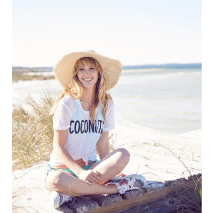 Chaser Coconuts Knit Tee   South Moon Under