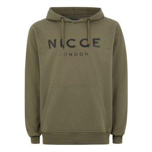 NICCE Khaki Logo Hoodie - New Arrivals - New In - TOPMAN USA