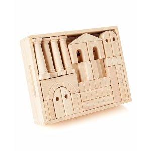 Melissa & Doug Architectural Standard Unit Blocks Set
