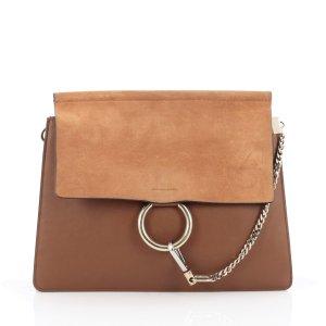 (5) brown Leather CHLOÉ Handbag - Vestiaire Collective