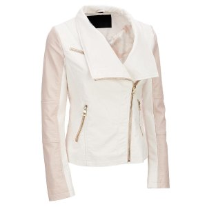 Famous Maker Colorblock Faux-Leather Jacket Wilsons Leather