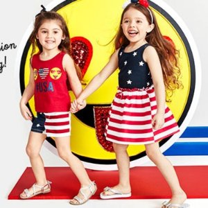 50-60% Off Entire Site + Double or Triple PointsFree Shipping Memorial Day Sale @ Children's Place