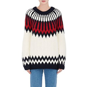 Chloé Abstract-Pattern Wool Sweater | Barneys Warehouse
