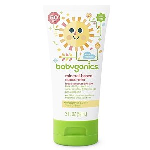 Babyganics® 2 oz. Mineral-Based Sunscreen SPF 50+