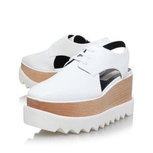 Stella McCartney Elyse Cut-Out Platform Shoe