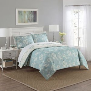 Marble Hill 3-piece Bonita Reversible Comforter Set