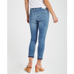 The Stilt Crop In 21 Years Breathless Cropped Jeans
