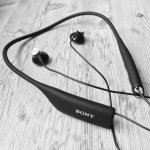 Sony SBH70BK Wireless NFC Sports Headphones