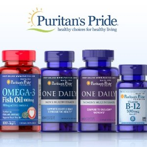 Ending today! Extra 16% off + Free GiftSale @ Puritan's Pride